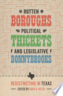 Rotten Boroughs  Political Thickets  and Legislative Donnybrooks
