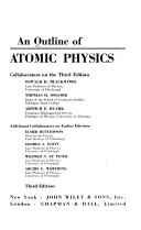 An Outline of Atomic Physics