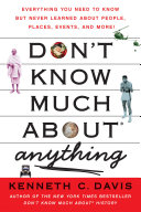Don t Know Much About Anything