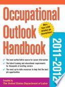 Occupational Outlook Handbook 2011 2012