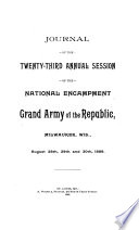 Journal of the National Encampment of the Grand Army of the Republic
