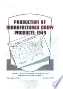 Production of Manufactured Dairy Products