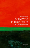 Analytic Philosophy  A Very Short Introduction