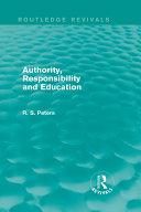 Authority  Responsibility and Education