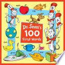 Dr  Seuss s 100 First Words