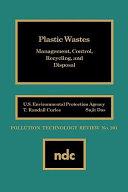 Plastic Wastes Book PDF