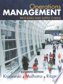 Operations Management: Processes and Supply Chains Plus Myomlab with Pearson Etext -- Access Card Package