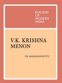 V  K  Krishna Menon