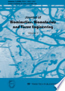 Journal of Biomimetics, Biomaterials and Tissue Engineering