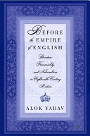 Before the Empire of English: Literature, Provinciality, and Nationalism in Eighteenth-Century Britain [Pdf/ePub] eBook