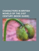 Characters In British Novels Of The 21st Century Book PDF