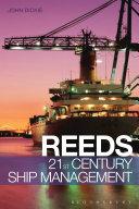 Pdf Reeds 21st Century Ship Management Telecharger
