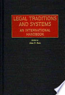 Legal Traditions and Systems