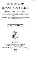 Gymnase dramatique: no. 15]. Scribe, A.E. Le bon papa. 1822