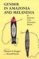 Gender in Amazonia and Melanesia ebook