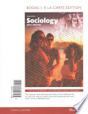 Sociology, Books a la Carte Edition Plus NEW MySociologyLab for Introduction to Sociology -- Access Card Package