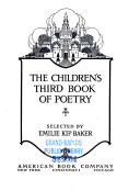 The Children s Third Book of Poetry