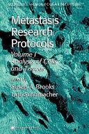 Metastasis Research Protocols