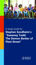 A Study Guide for Stephen Sondheim's