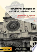 Structural Analysis of Historical Constructions   2 Volume Set Book