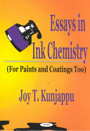 Essays In Ink Chemistry Book PDF