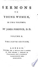 Sermons to young women ... The fifth edition