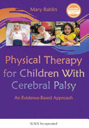 Physical Therapy for Children with Cerebral Palsy Book