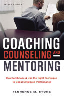 Coaching, Counseling and Mentoring