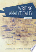 Writing Analytically with Readings (with 2016 MLA Update Card)