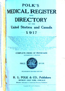 Polk s Medical Register and Directory of North America