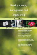 Service Science  Management and Engineering Second Edition