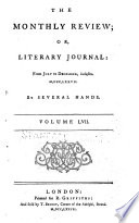 The Monthly Review  Or  Literary Journal Book PDF