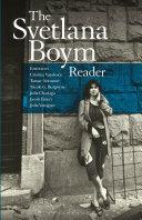 The Svetlana Boym Reader Pdf/ePub eBook