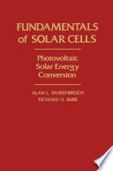 Fundamentals Of Solar Cells Book PDF