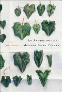 An Anthology of Modern Irish Poetry