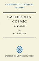 Pdf empedocles' cosmic cycle