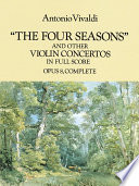The four seasons  and other violin concertos