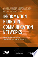 Information Hiding in Communication Networks