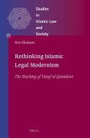 Rethinking Islamic Legal Modernism