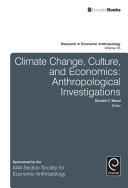 Climate Change, Culture, and Economics