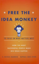 Free the Idea Monkey to Focus on What Matters Most  How the Most Successful People Make Big Ideas Happen Book