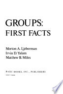 Encounter groups: first facts