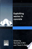 Exploiting Wastes in Concrete