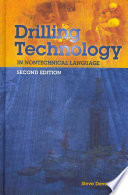 Drilling Technology in Nontechnical Language Book