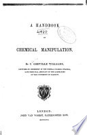 A Handbook of Chemical Manipulation Book