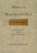 Moses Maimonides [Pdf/ePub] eBook