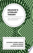 Deleuze s Literary Theory
