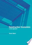 Construction Economics