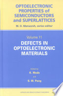 Defects in Optoelectronic Materials Book