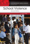 School Violence  A Reference Handbook  2nd Edition